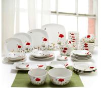 Korean Dinnerware & Fuji Dinner Plates Set Of 4
