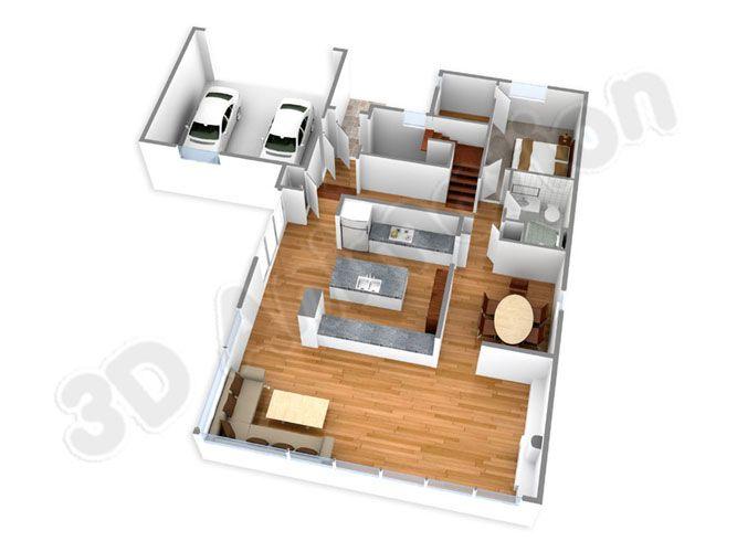 Indian House Plans In 3d 3060 Chien En Bouvier Bernois Floor