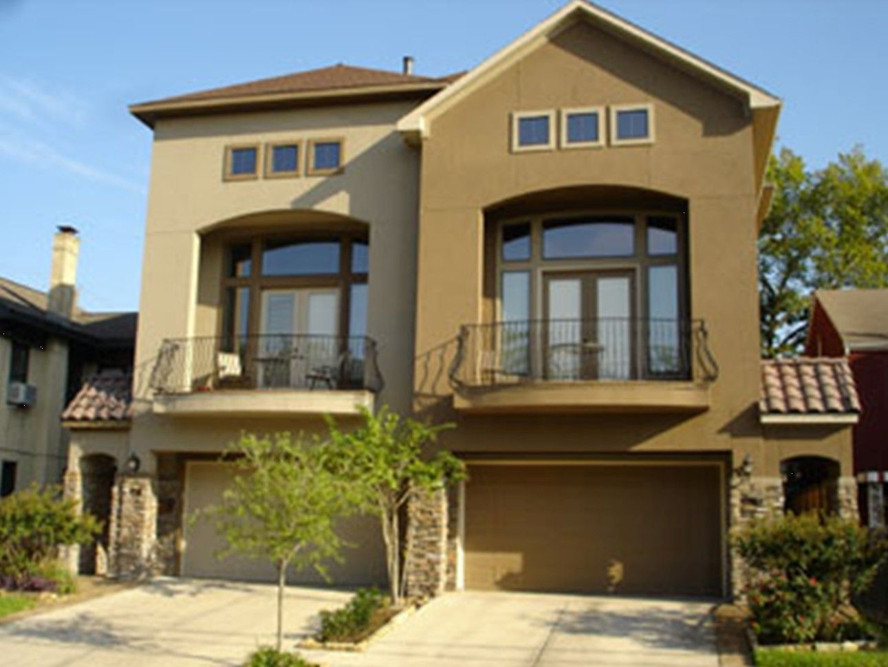 Exterior paint schemes stucco - Exterior Paint Schemes With Stucco And Stone Stucco Is A
