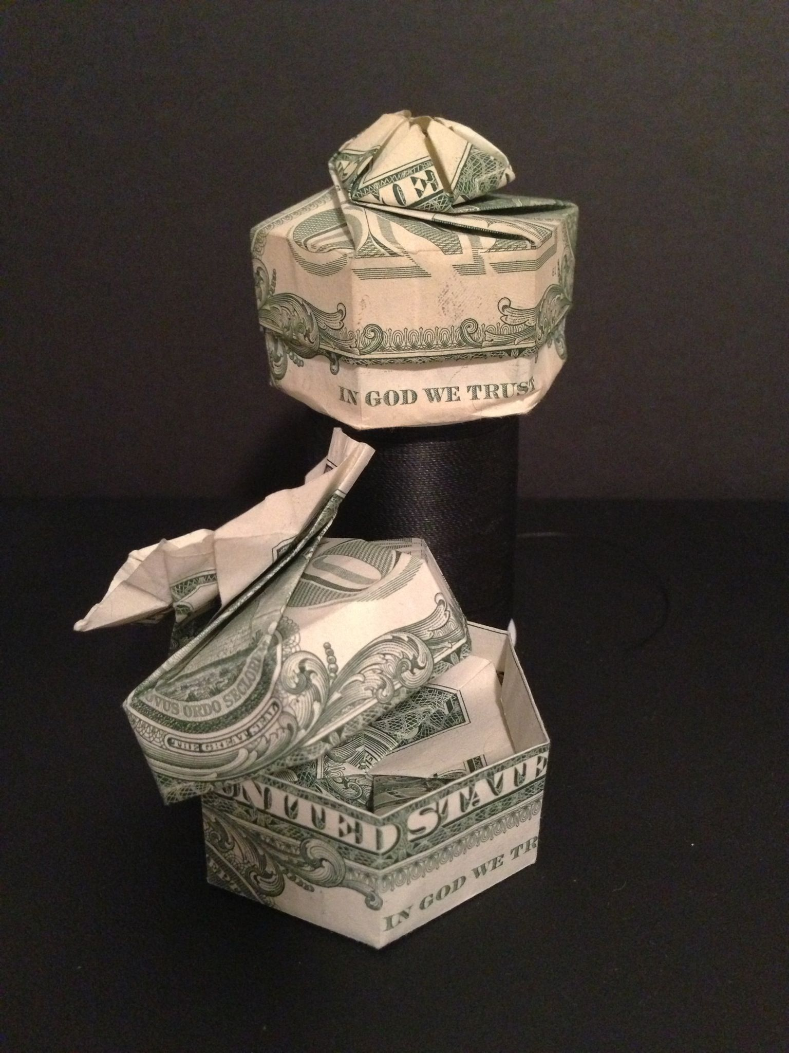 folding origami box diagram oil burner parts how to fold dollar any bill into a w lid