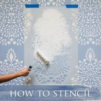 Wall Stencils, Wall Decals, Custom Vinyl Stencils