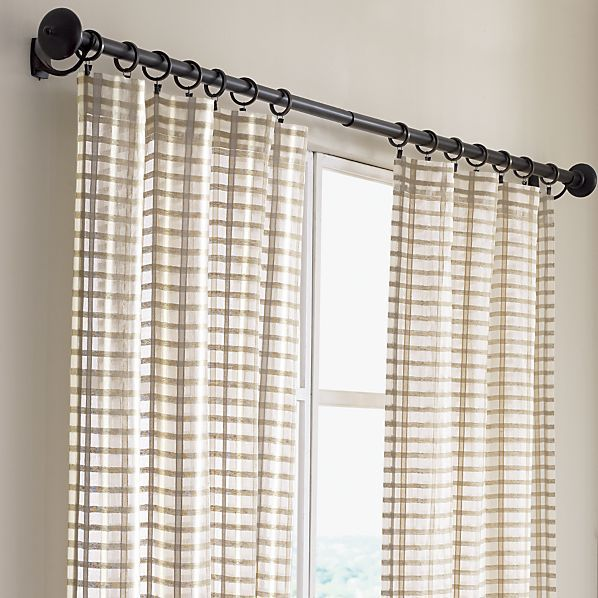 Ross Natural Sheer Curtain Panels Sheer Curtain Panels