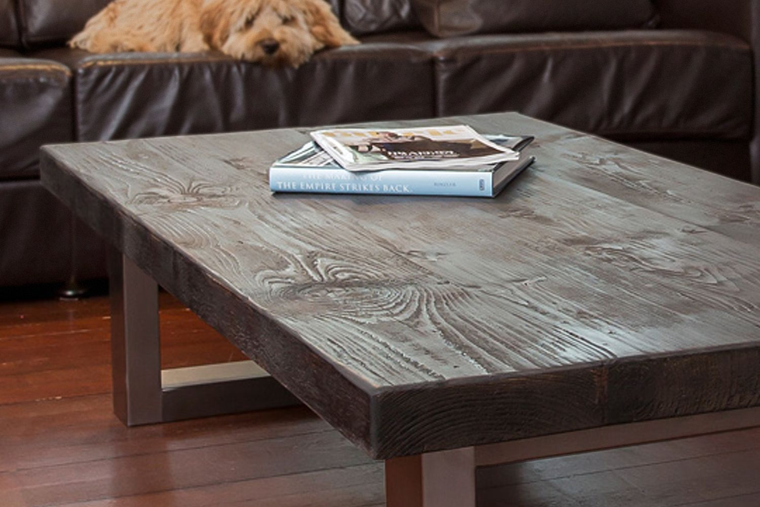 Bespoke coffee table a warm centre piece for any living