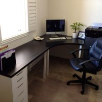 Home Office. Ikea desk. | Home Office | Pinterest | Ikea ...