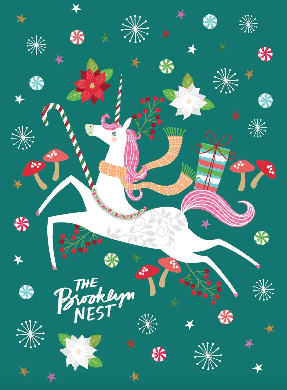 Best 25 Christmas Unicorn Ideas On Pinterest Unicorn