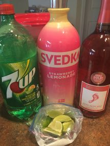 Vodka Strawberry Lemonade Punch