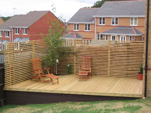 Decking Sloping Garden Google Search Garden Pinterest