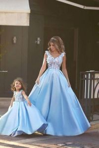 28 Matching Flower Girl Dresses To Bridal Gowns | Bridal ...