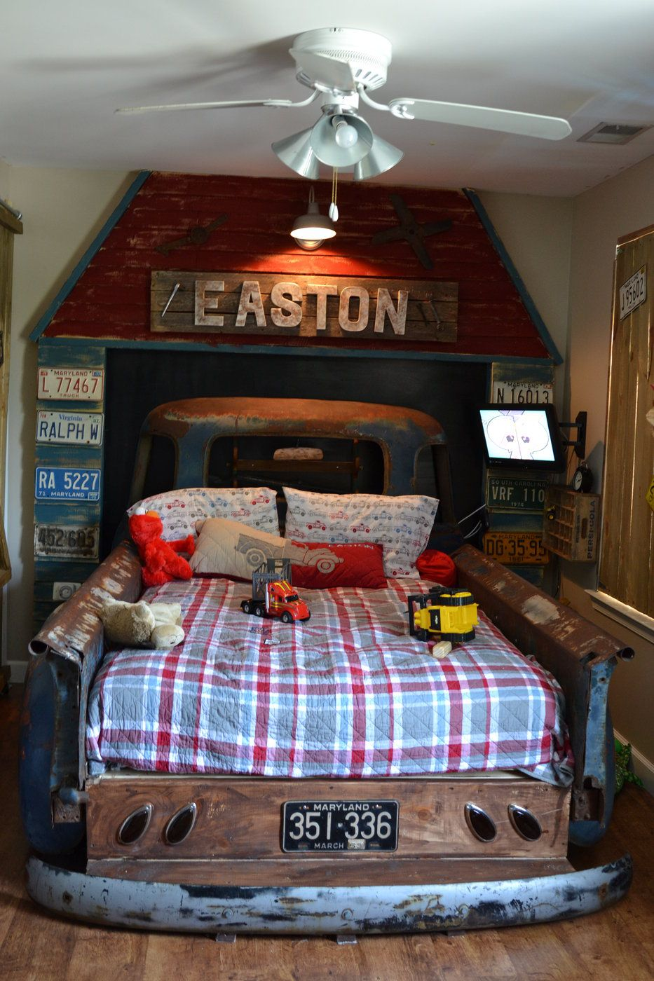 1952 Chevy bed  Easton  Pinterest  Room Bedrooms and