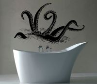 Octopus Tentacles Wall Decal Vinyl Stickers Sprut Sea ...