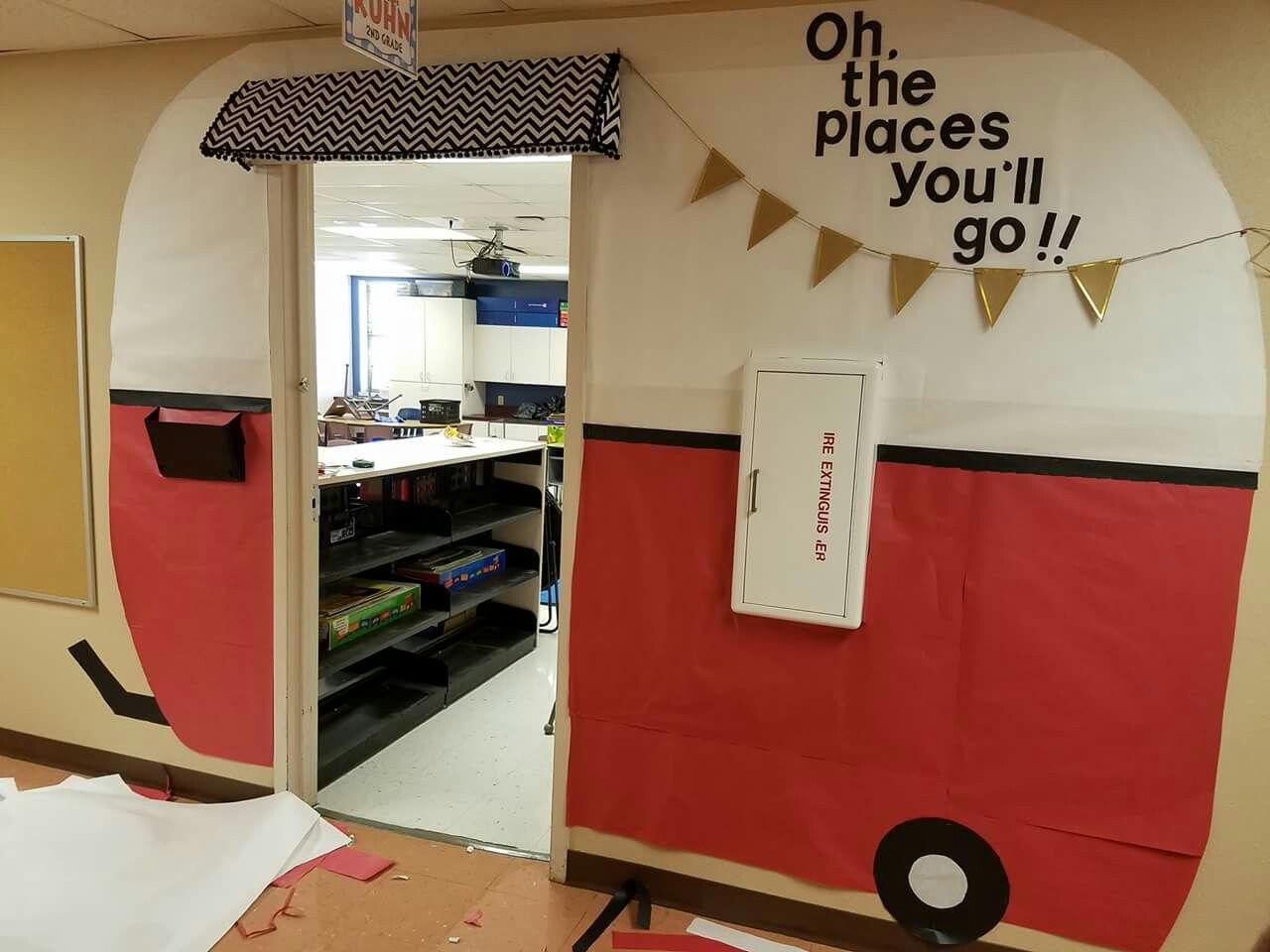 Teacher decorated classroom door!