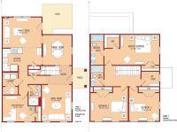 Bedroom : Beautiful 4 Bedroom House Plans And 4 Bedroom