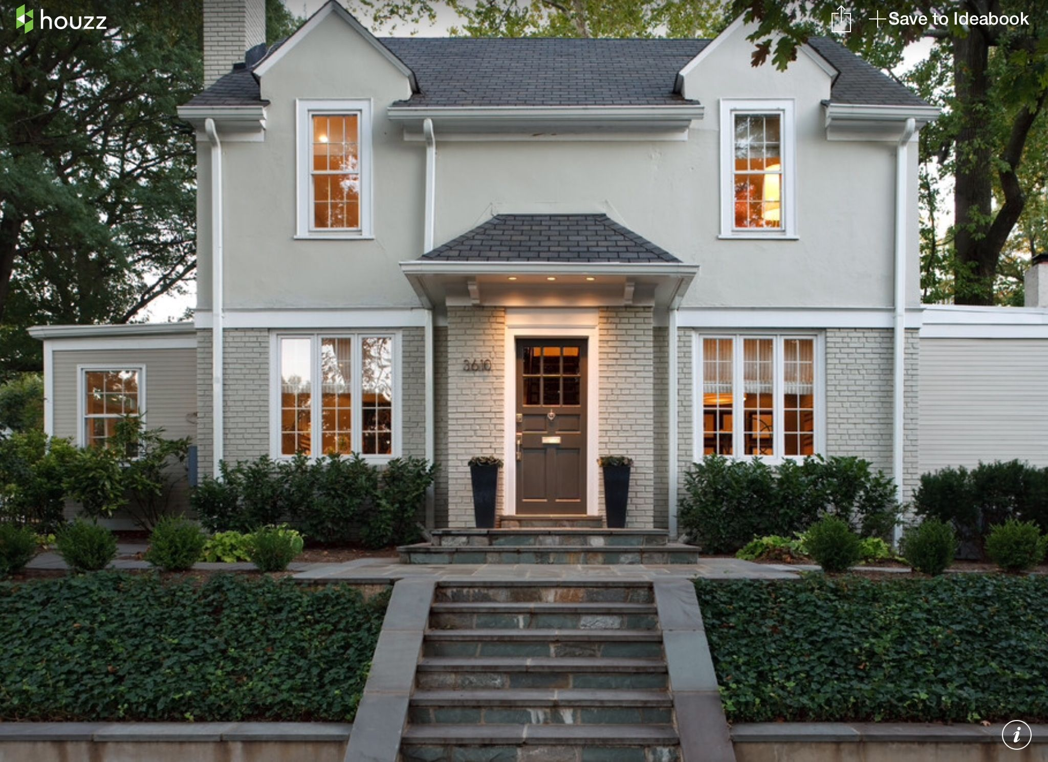 Exterior House Color Light Warm Grey Exterior & Landscaping