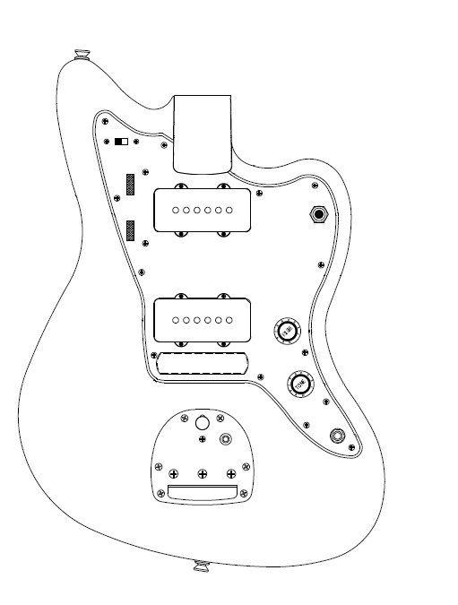 Fender Jaguar Wiring Diagrams Auto Electrical Wiring Diagram