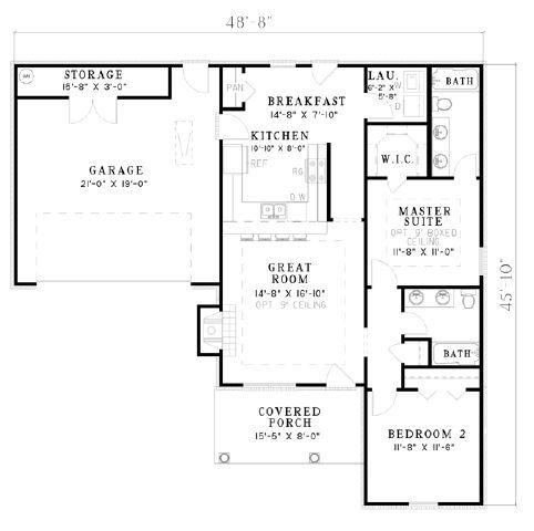 Design Connection LLC House Plans & House Designs Plan Detail