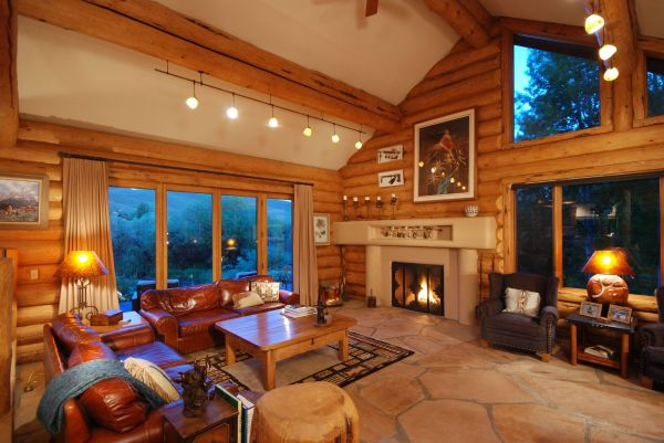 Mountain Homes Interior Design Of House In