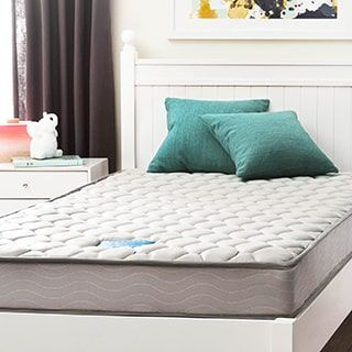 For Linenspa 6 Inch Twin Innerspring Mattress Get Free Shipping At Furniture Outletonline