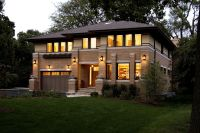 New Prairie Style House, West Studio, Frank Lloyd Wright ...