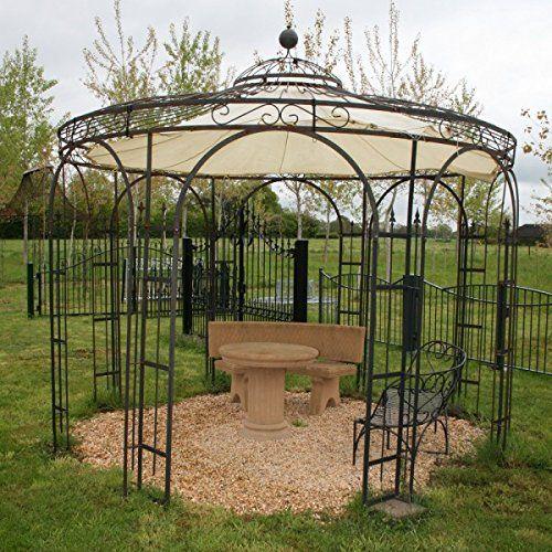 Pavillon Gartenpavillon Pavillon Metall Gartenlaube