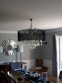 Diy Chandelier Lamp Shade From Campaign Signs