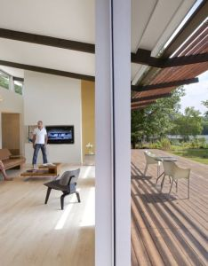 Image of from gallery smart stell residence tonic design construction courtesy also ceiling roof overhang renovation ideas pinterest rh