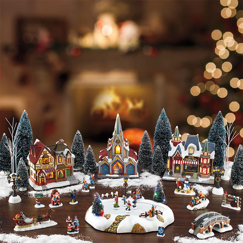 Villages Styrofoam Displays Christmas