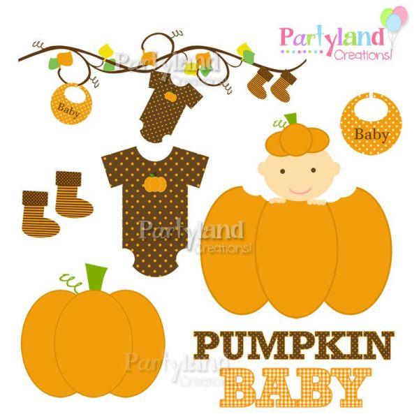 fall baby shower clip art - autumn