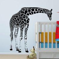 Large Giraffe Wall Decal Vinyl Sticker - Animal Series ...