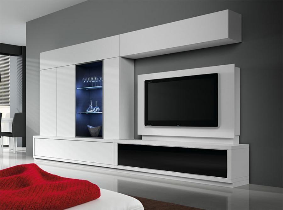baixmoduls modern living room wall storage system storage