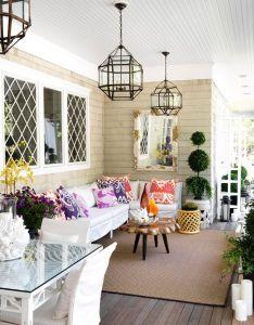 Cozy outdoor living eclectic chic interior design also apartment rh pinterest