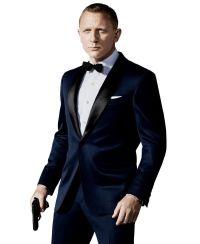 Groom Tuxedos Prom Wedding Suit (Jacket+Pants+Bow Tie ...