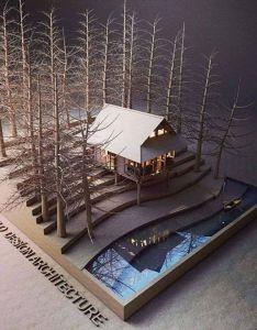 House model by ivan fernando kalalo in indonesia also maquetas rh pinterest