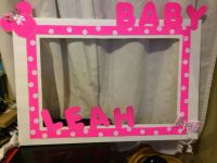 Minnie Mouse baby shower photo booth frame... | Baby ...