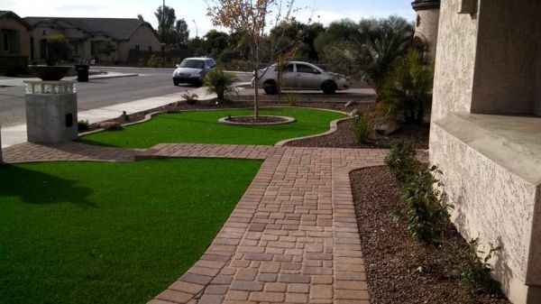 front yard desert landscaping ideas