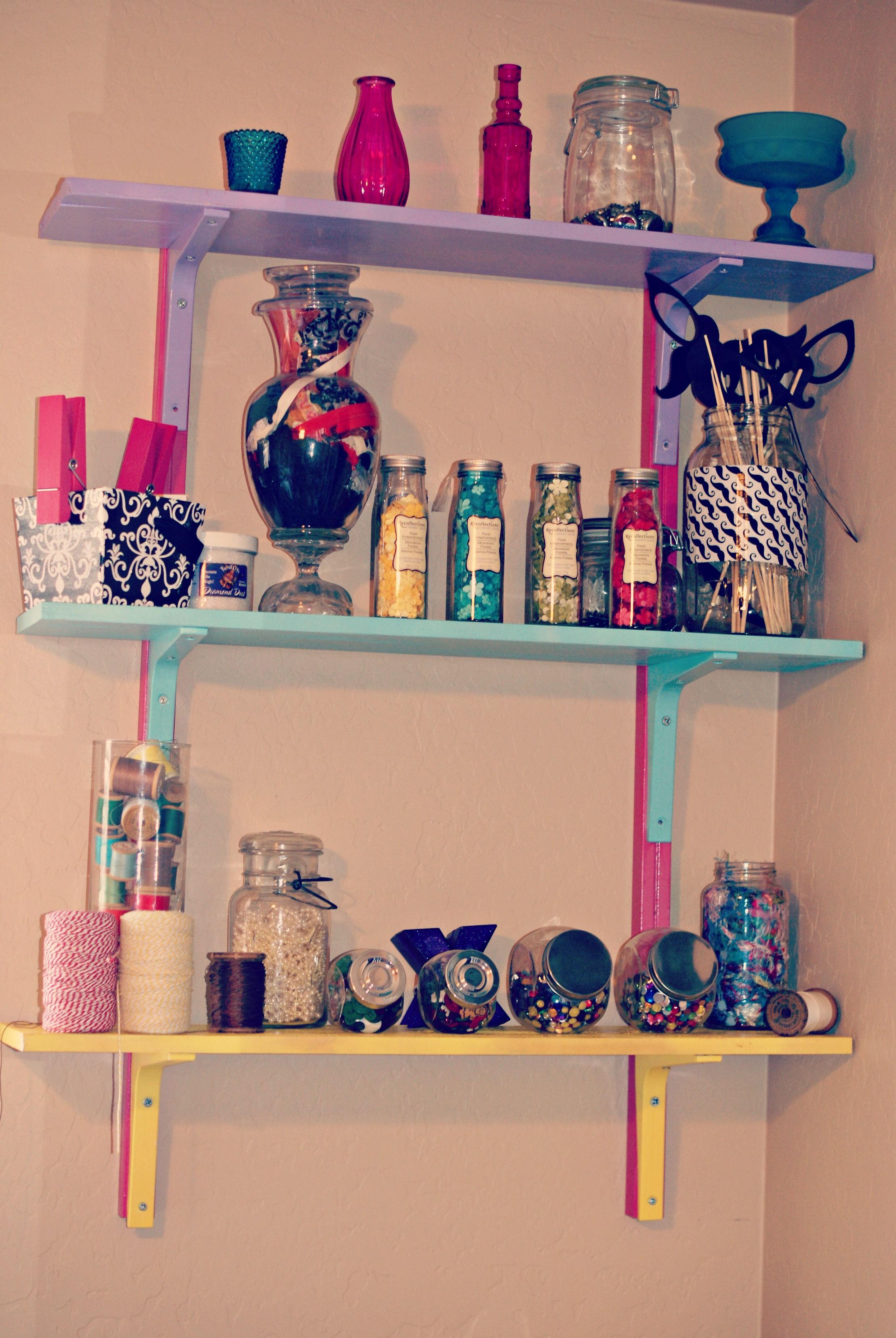 DIY Office & Craft Room Decor Spray Painting Something Different