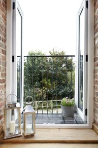 French Doors leading onto Juliet Balcony  | Pinteres