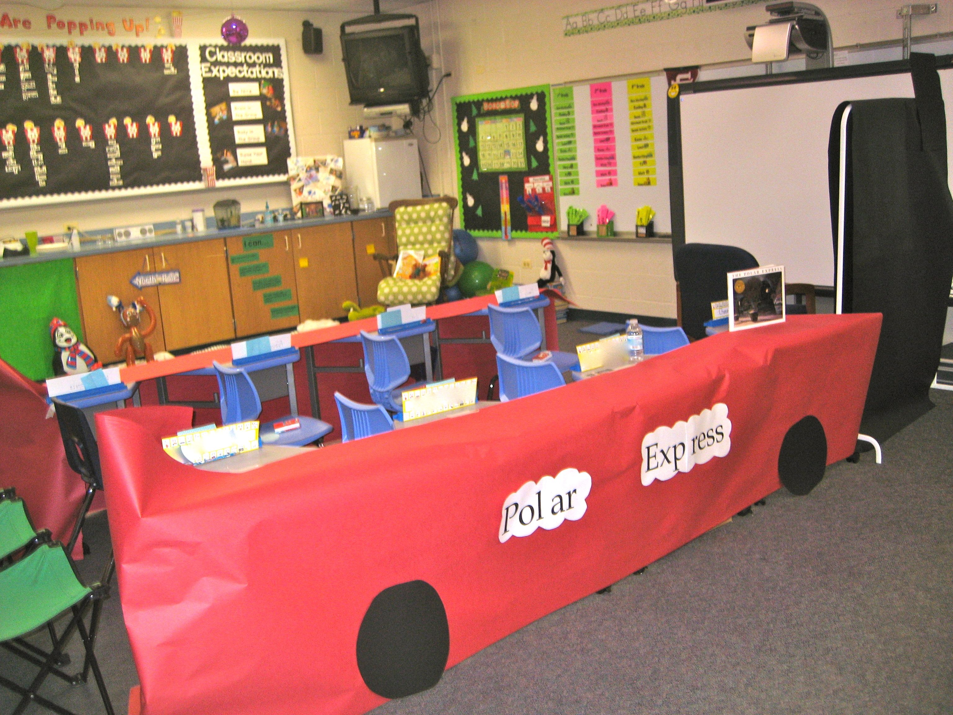Create The Polar Express Train In Your Room Using Butcher