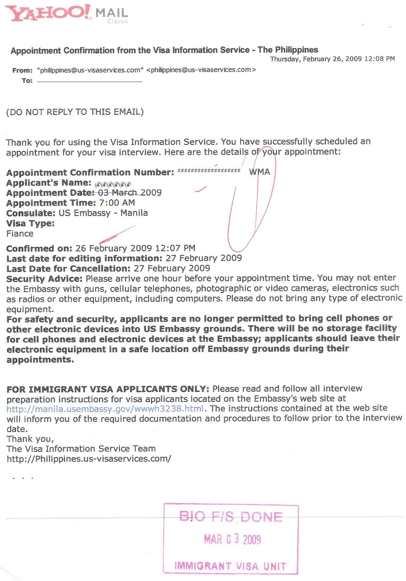 Visa Timeline Info And More Sample Appointment Letter For Usa Business  British