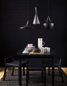Home  interior furniture eating messing leuchte schwarz black beat also rh pinterest