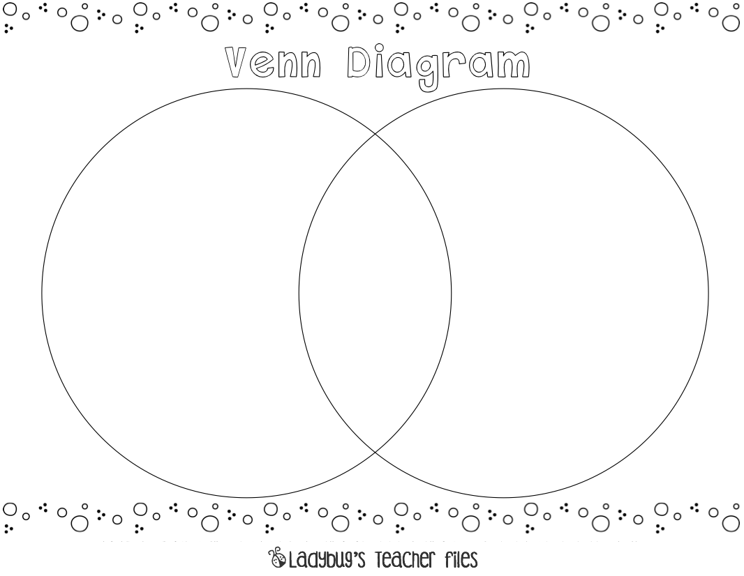 Square Venn Diagram Worksheet