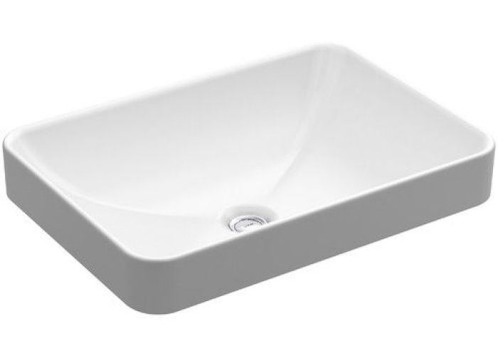 Found it at wayfair vox rectangle vessel above counter bathroom sink in white also vitreous china rectangular with overflow