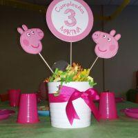 Cumpleaos Peppa Pig - Grupo Red Carpet | pepa pink ...