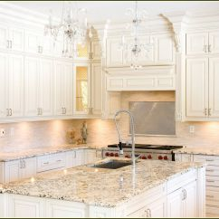 Kitchen Cabinets Countertops Ideas Rubber Floor Mats Off White With Granite