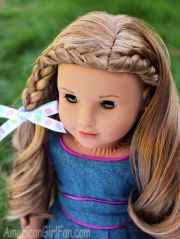 braided doll hairstyle easter