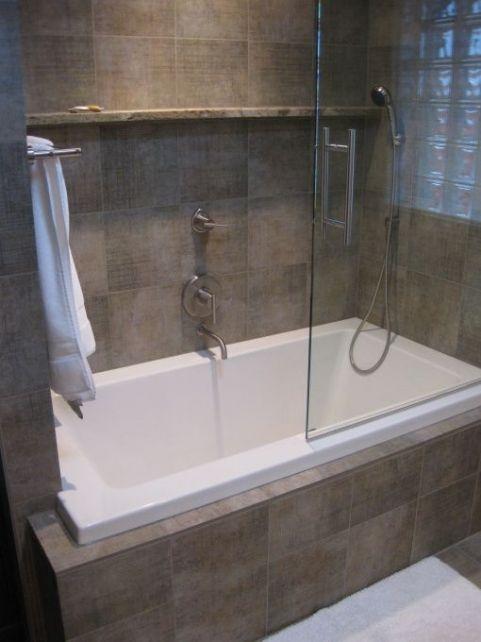 Beautiful Soaking Tub Shower Combo Throughout Jacuzzi Tub