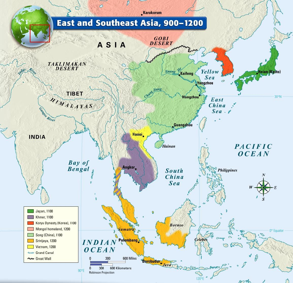 East And Southeast Asia 900