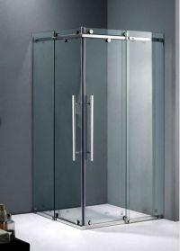 Shower Screen, Frameless Sliding Corner Shower Screen With