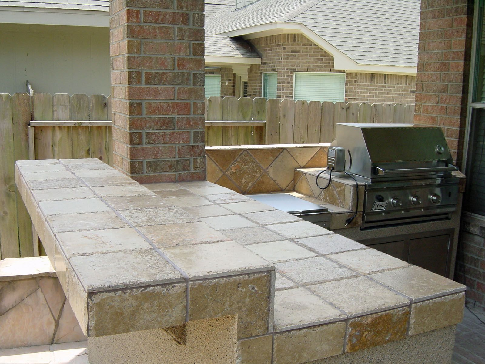 outdoor kitchen ideas for small spaces cabinet installation under patio photos of