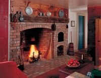 Colonial Kitchen Fireplace | Colonial Fireplaces ...
