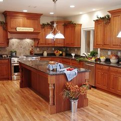 Kitchen Cabinet Wood Replacement Sprayer Rustic Cabinets Fake Wooden Floor